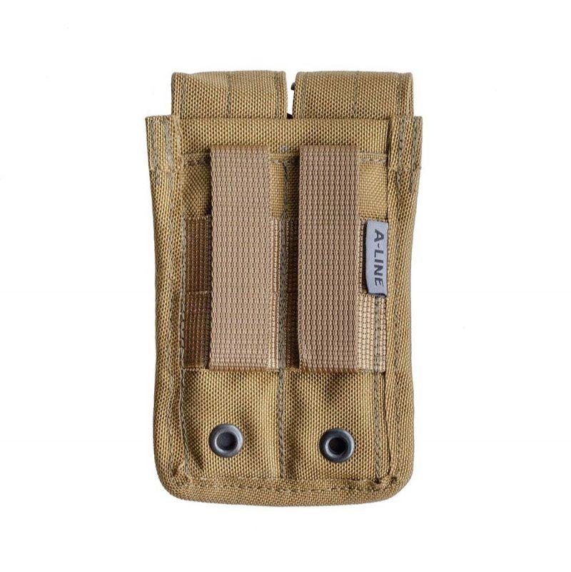 Подсумок для пистолетных магазинов MOLLE см14 a-line