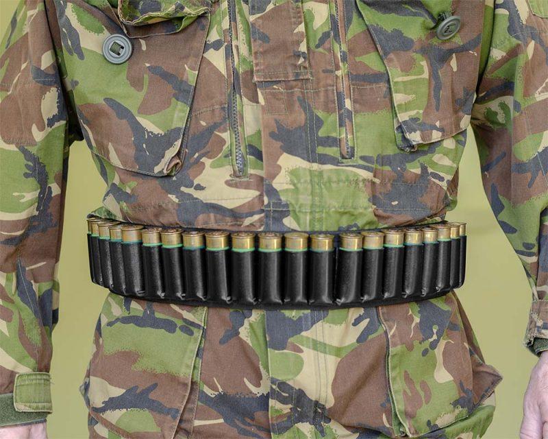 поясной кожаный патронташ м9 a-line