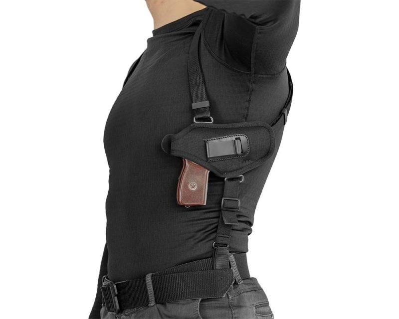 кобура оперативная с подсумком для Пистолет Макарова 5СУ1+ a-line